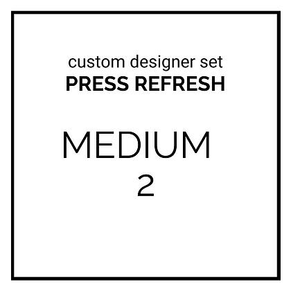 custom designer set - PRESS REFRESH - medium 2