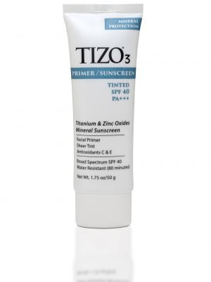 TIZO 3 - Mineral Sunscreen SPF 40 Primer  (lightly tinted)