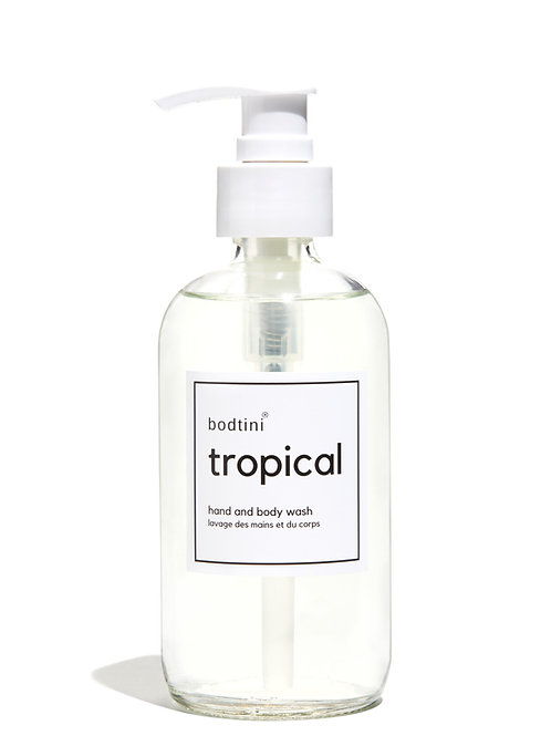 TROPICAL Hand and Body Wash - 8oz