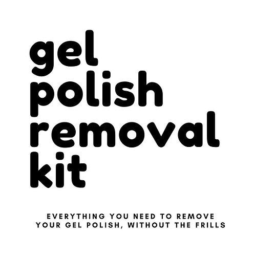 Gel Polish Removal Kit