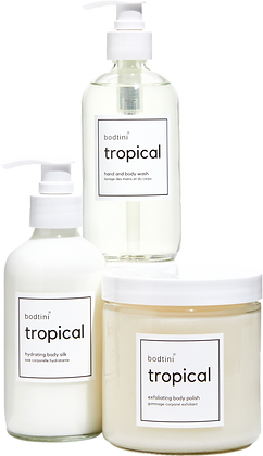 TROPICAL Wash, Buff and Hydrate (set of all 3)