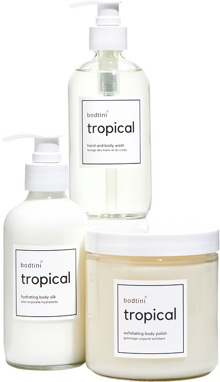 TROPICAL Wash, Buff and Hydrate (set of all 3) w/free gift