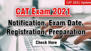 CAT 2021: IIM Ahmedabad officially releases notification at iimcat.ac.in