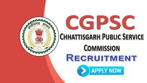 CGPSC Chhattisgarh State Engineering Services Online Form 2021