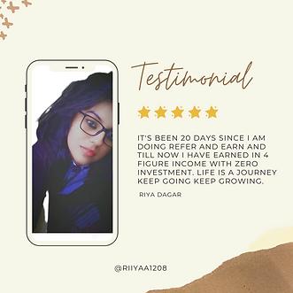 Business Review Testimonial Instagram Po