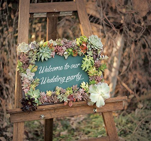 Welcome Board