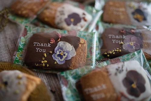 お花のクッキー