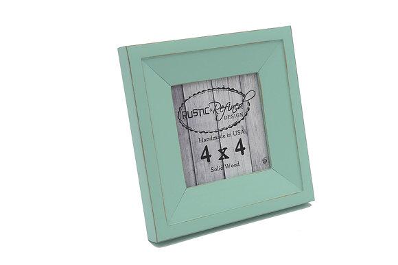 4x4 Haven picture frame - Sea Foam