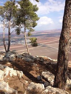 הנוף הנשקף מהר שאול