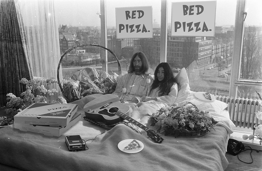 red pizza bed pizza john and yoko.jpg