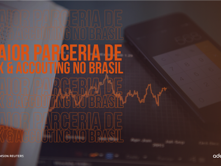 """Adejo se consolida como a """"MAIOR PARCEIRA DE TAX & ACCOUNTING"""" da Thomson Reuters Brasil"""