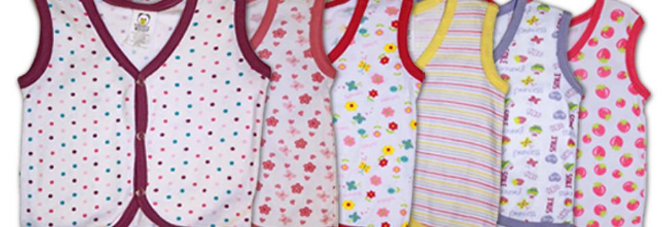Baby Button Undershirts (KBW)