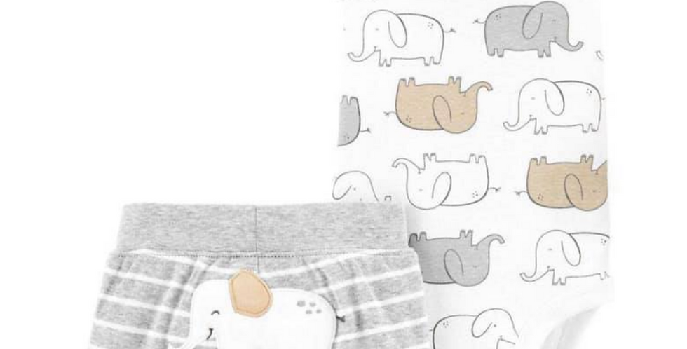 Elle the Elephant Carters Set
