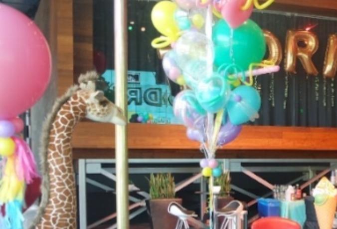 Floor Balloons