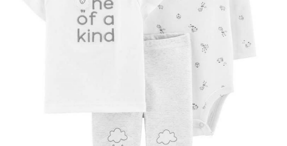 One of a Kind Unisex Carters Set