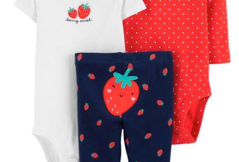 Berry Sweet 3 Piece Carters Set
