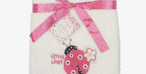 Baby Laby Bug Blanket