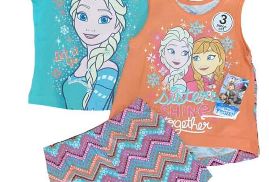 Disney Frozen 3 Piece Set