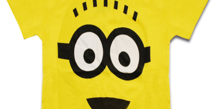 Despicable Me Bob Face Graphic T-Shirt