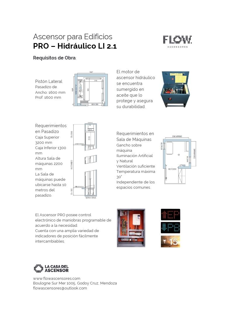 PRO: El Ascensor para edificios