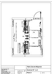 PRO Camillero duplex - Sala de máquinas