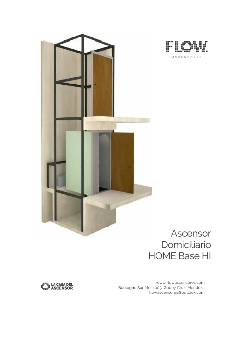 Ascensor Domiciliario HOME Base HI