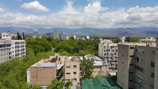 Vista desde Hospital Central Mendoza