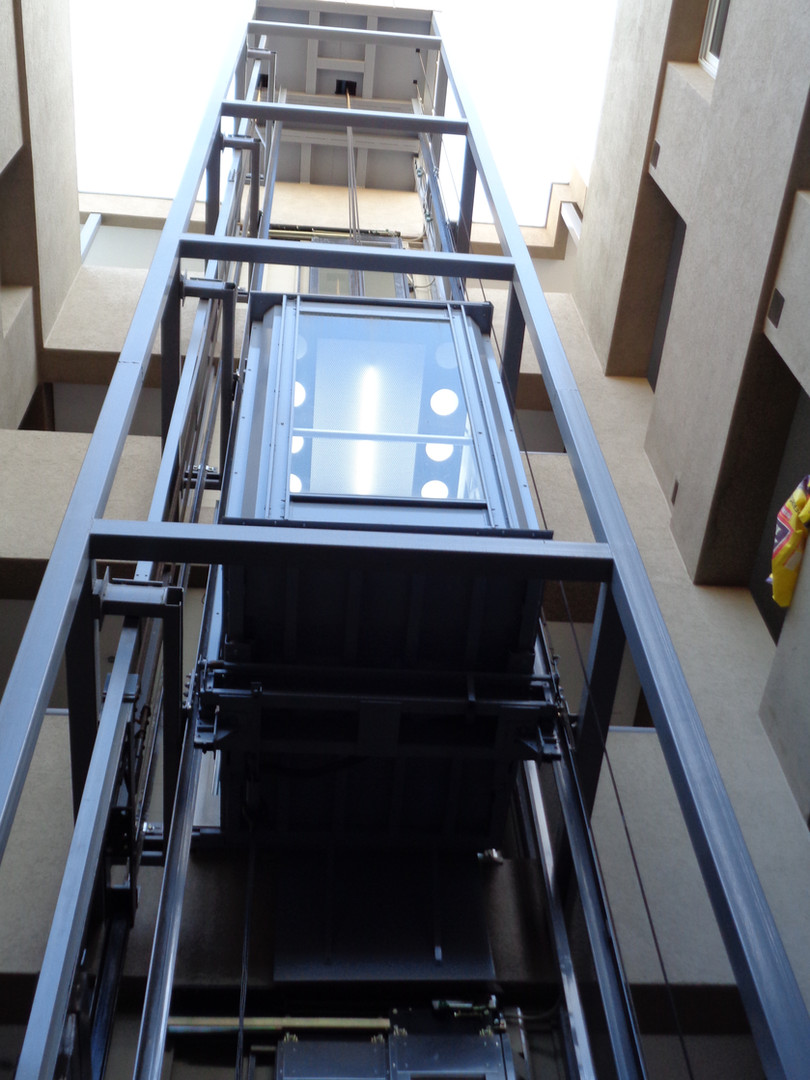 Cabina de ascensor panorámico