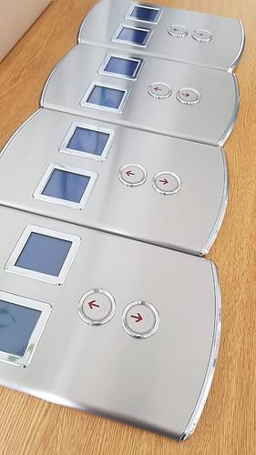 fabricación de botoneras de ascensor dúplex
