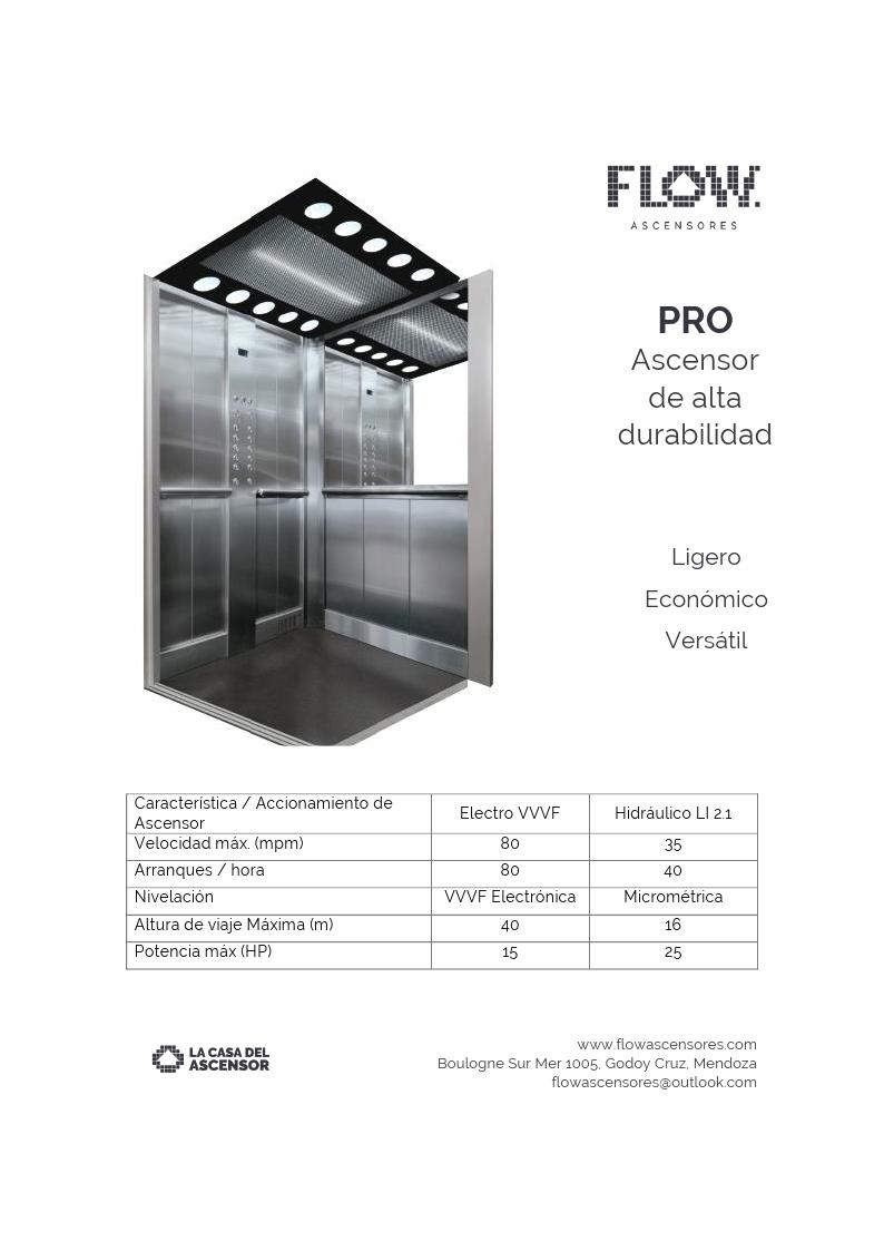 PRO: El Ascensor para edificios 1