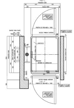 Planta Plataforma Salva Escaleras PSE LD