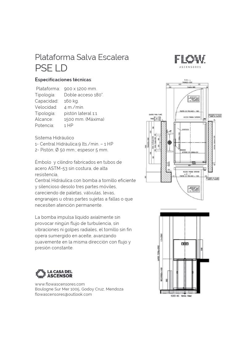 Plataformas Salva Escaleras Flow PSE LD.