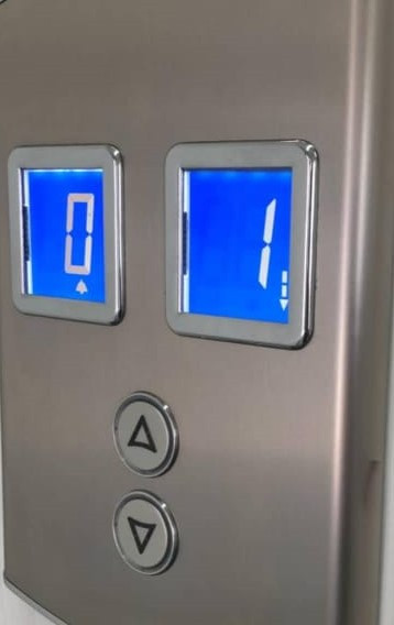 Botoneras de ascensores duplex en palier