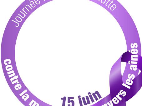 Journée mondiale contre la maltraitance le 15 juin