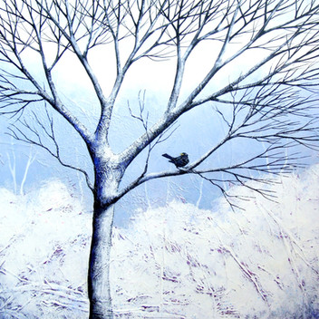 The Stillness of Winter II ©Deborah Burrow  SOLD
