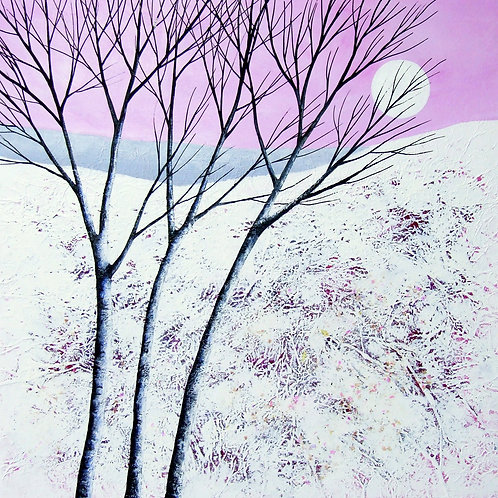 Winter Moonrise IV