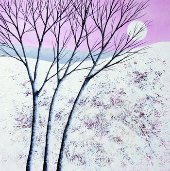Winter Moonrise IV ©Deborah Burrow