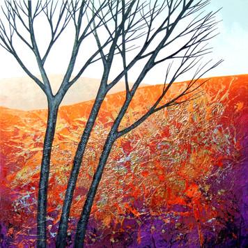The Burnished Autumn ©Deborah Burrow SOLD