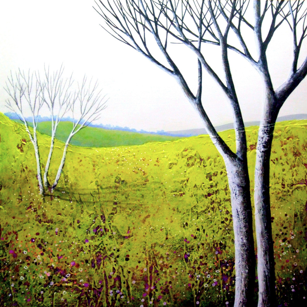 Spring is Coming IV ©Deborah Burrow SOLD
