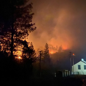 Power Outage and Fire Affects the Mountain Area