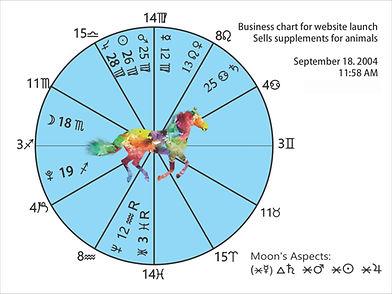 Electional Astrology Business chart