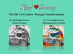 Heart Journey and Multidimentional Perception