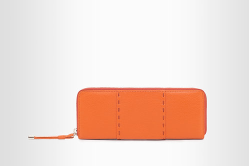 Bailey Wallet--Orange