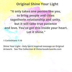 Shine Your Light Message