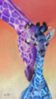 giraffe mom and baby wallpaper.jpg