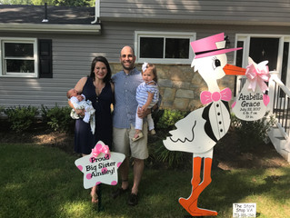 The Stork Stop of Northern Virginia ~ Annandale, Virginia ~ Our Baby and Our Business are Turning ON