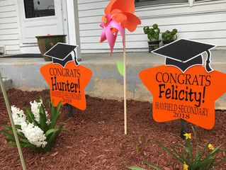 The Stork Stop of Northern Virginia ~ Now offering GRAD signs!