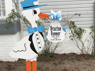 The Stork Stop of Northern Virginia ~ Vienna,VA ~ Baby Boy Stork Rentals