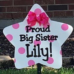 Big Sister Sign