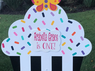 The Stork Stop of Northern Virginia ~ Vienna, Virginia ~ Birthday Sign Rentals